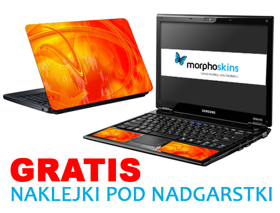 Naklejki na laptopa - skiny Morpho