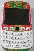 naklejka skin BB BlackBerry 9320 Black Berry
