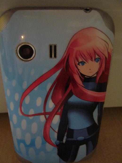manga anime Naklejka na telefon galaxy Y