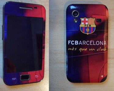 Projekt własny, Samsung Galaxy Ace Kategoria: Kluby Sportowe, iPhone