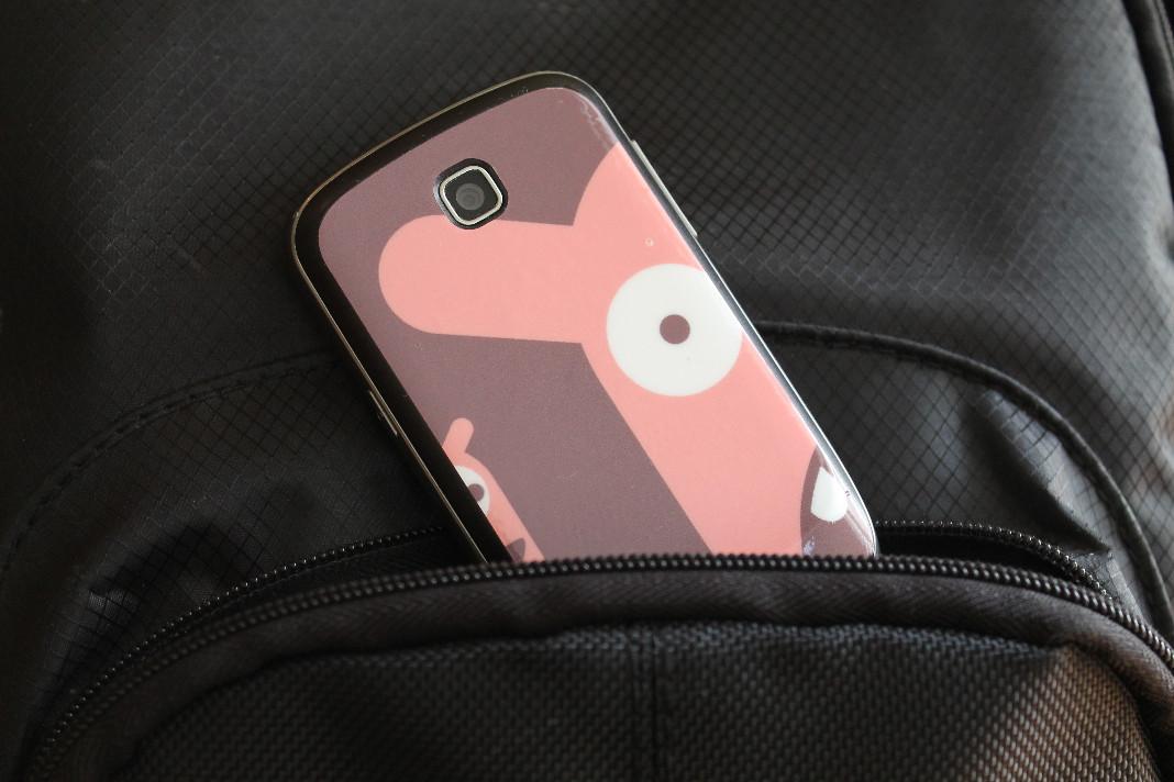 naklejka skin na telefon galaxy mini