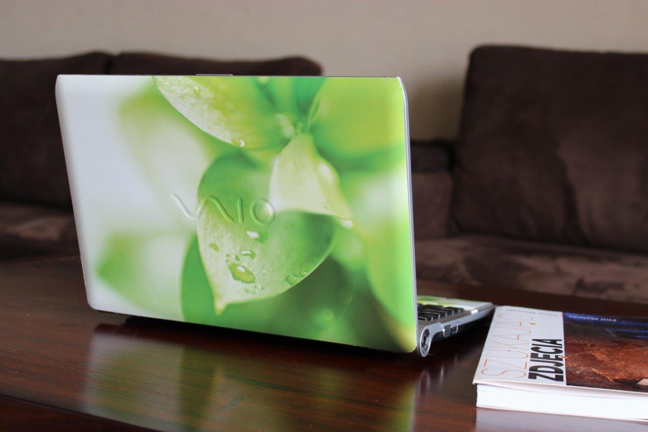 naklejki na laptopa Sony Vaio - skin Morpho