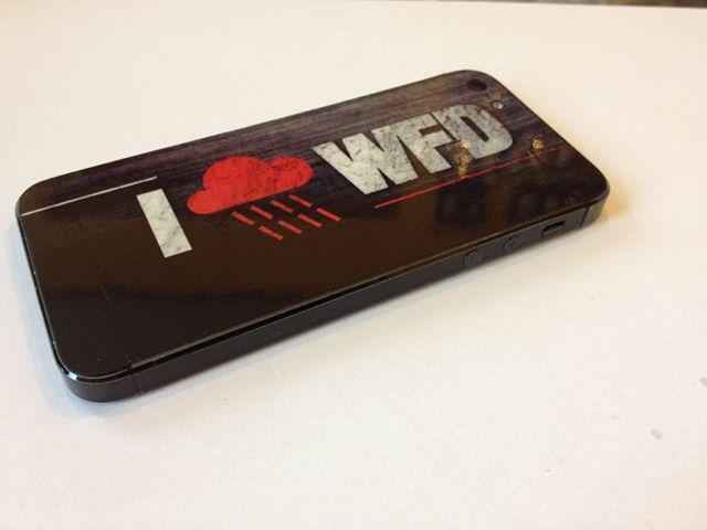 Naklejka na telefon iPhone 5