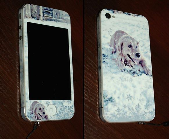 naklejka na telefon iPhone4