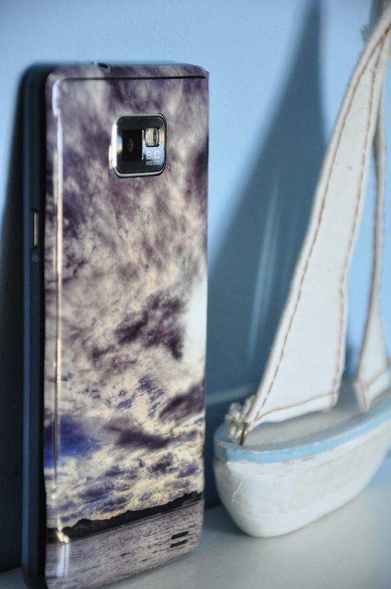naklejka na telefon Samsung Galaxy S2 - skin Morpho