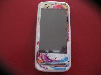 naklejka na telefon Nokia C6-00, projekt własny - skin Morpho