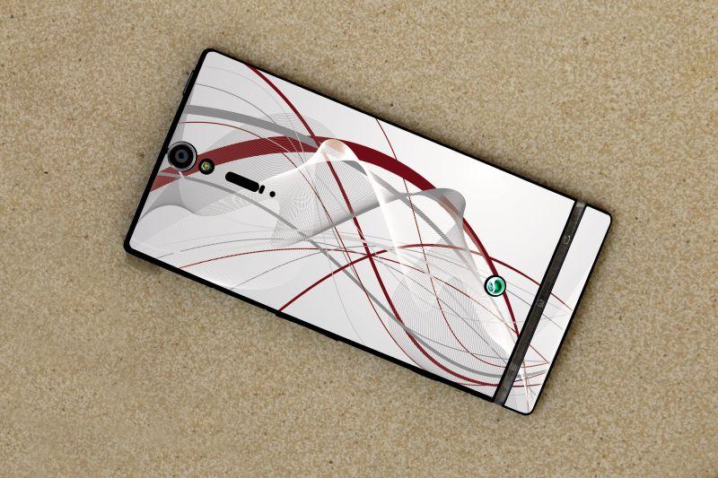 naklejka na telefon, skin na smartfon Sony erricsson Xperia S